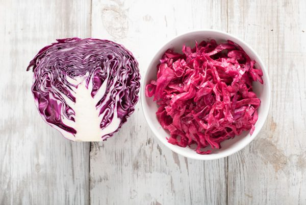 Red cabbage microgreens help reduce LDL cholesterol