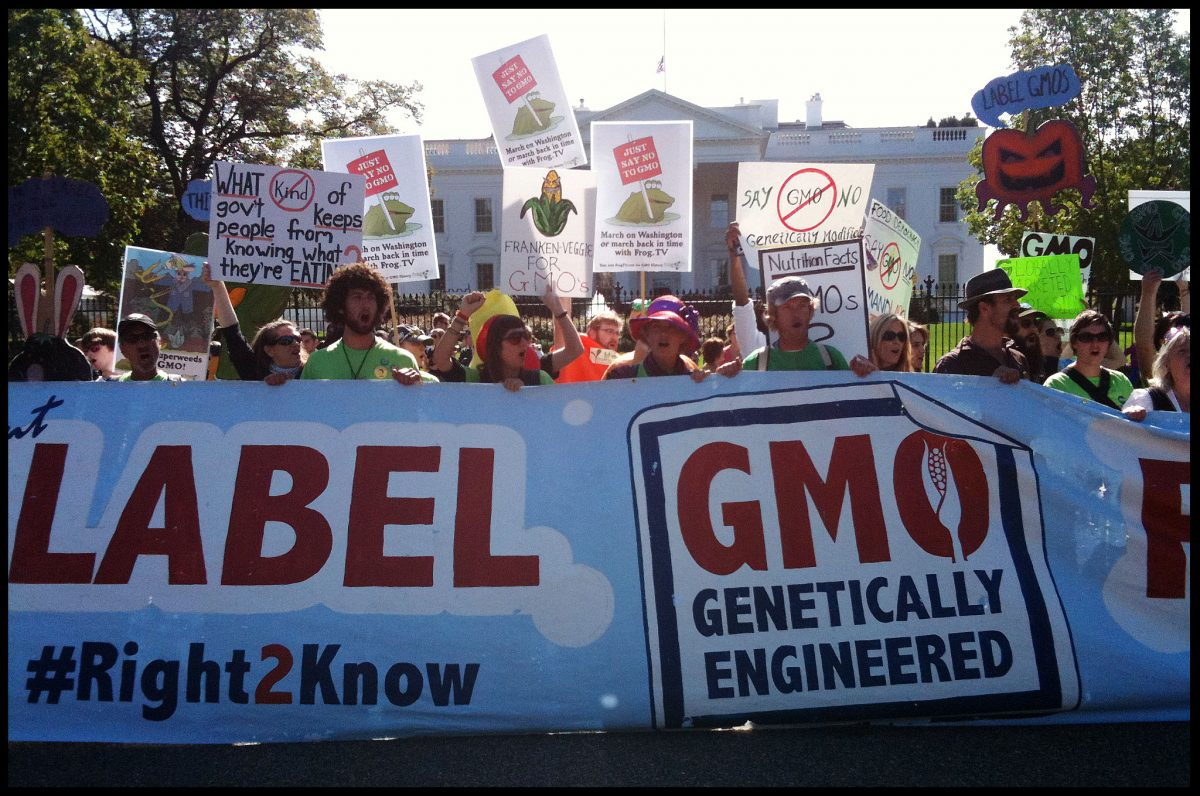 Trump Administration Sued Over GMO Food Labeling